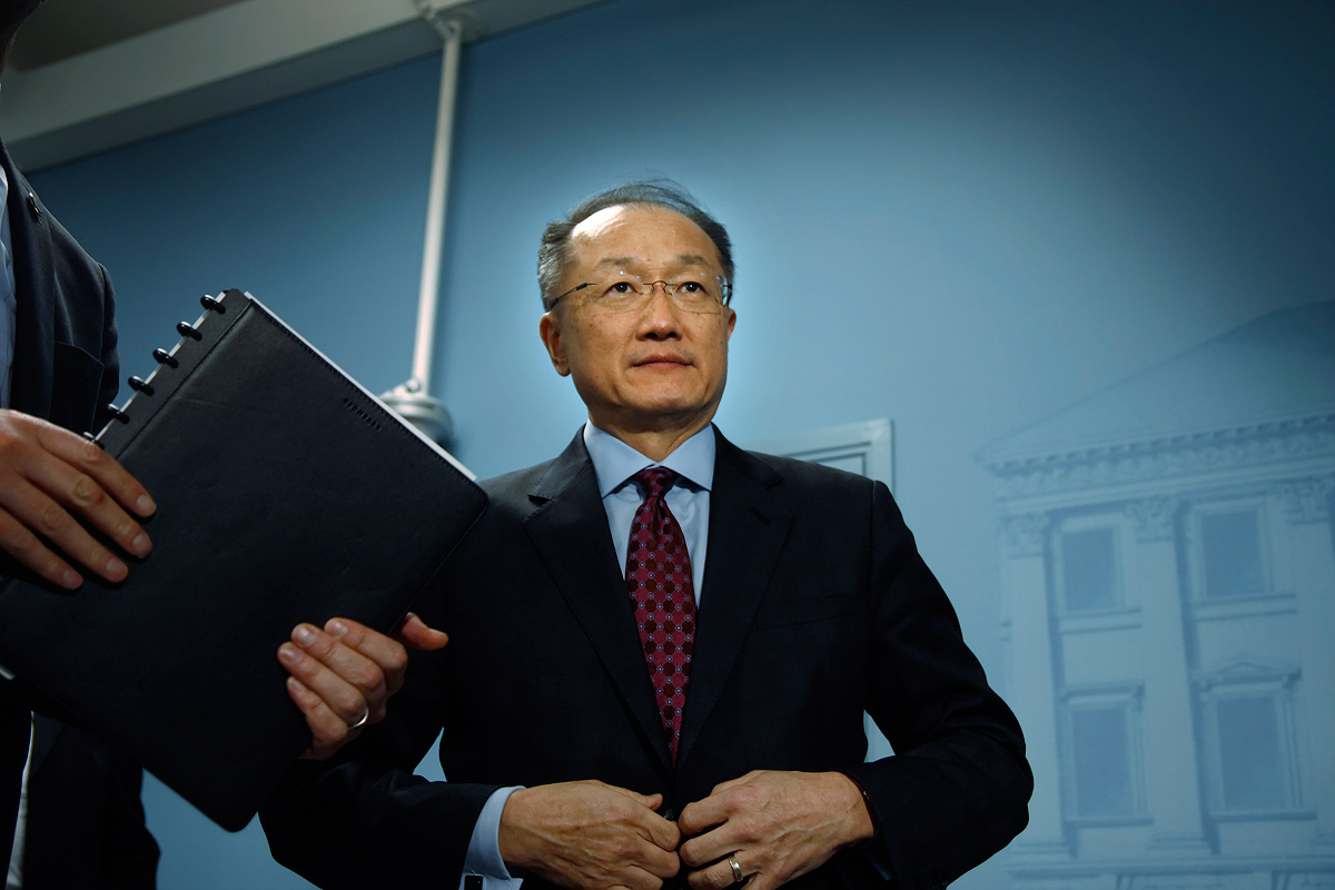 Jim Yong Kim. Picture: Tony Öhberg for Finland Today
