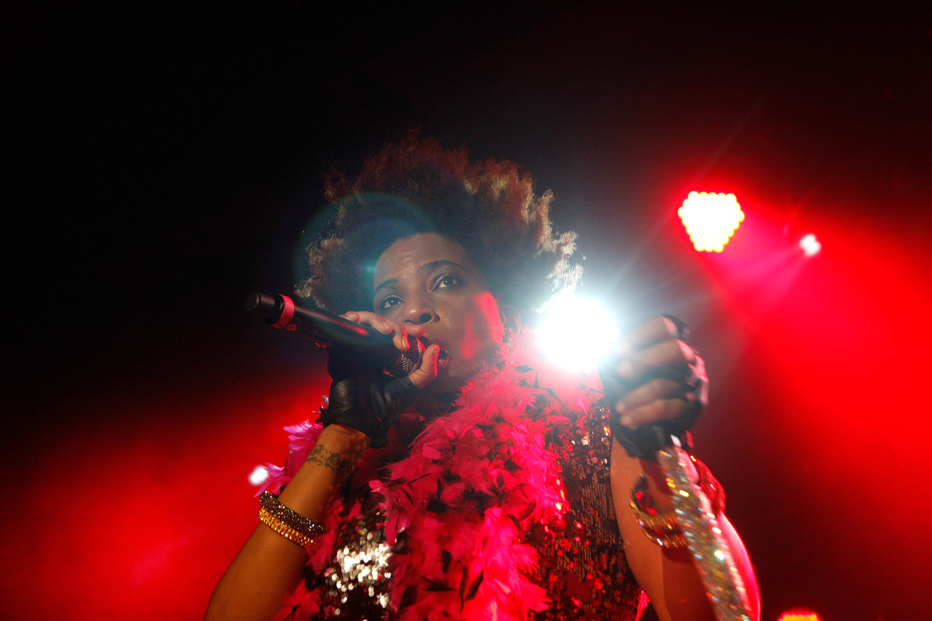Macy Gray's perfromance at the Circus nightclub in Helsinki was top-notch. Picture: Tony Öhberg for Finland Today