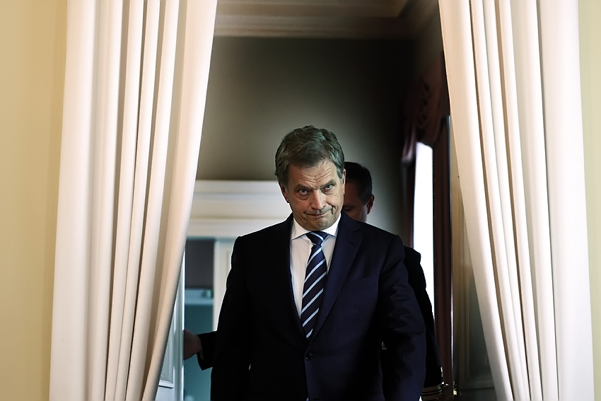 President Sauli Niinistö. Picture: Tony Öhberg for Finland Today