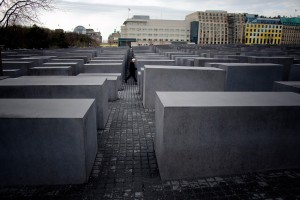 The Holocaust Memorial in Berlin commemorates the Jewish victims of the Holocaust with 2,711 concrete slabs. Picture: Tony Öhberg for Finland Today
