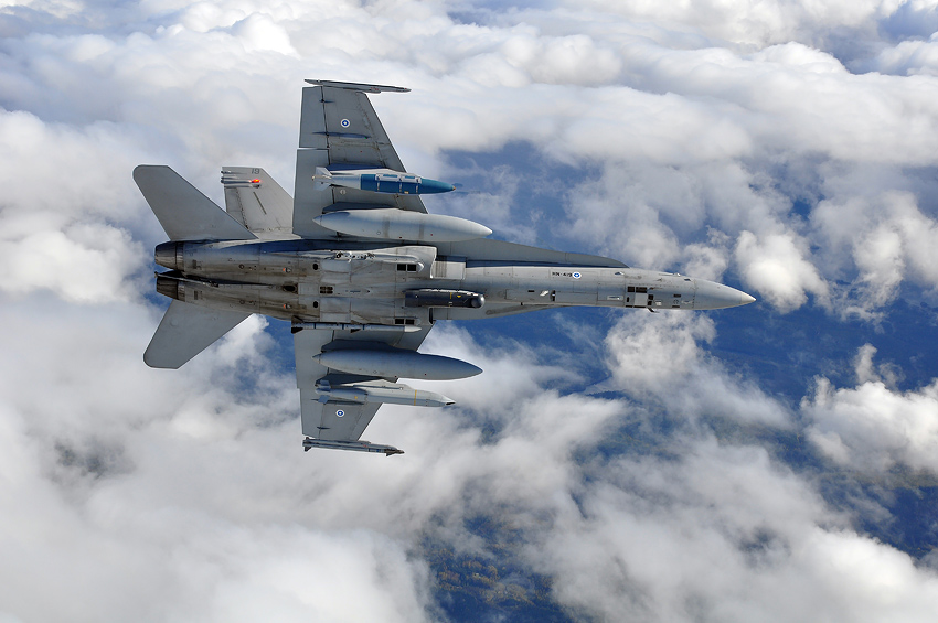 F/A-18 Hornet. Picture: The Finnish Air Force