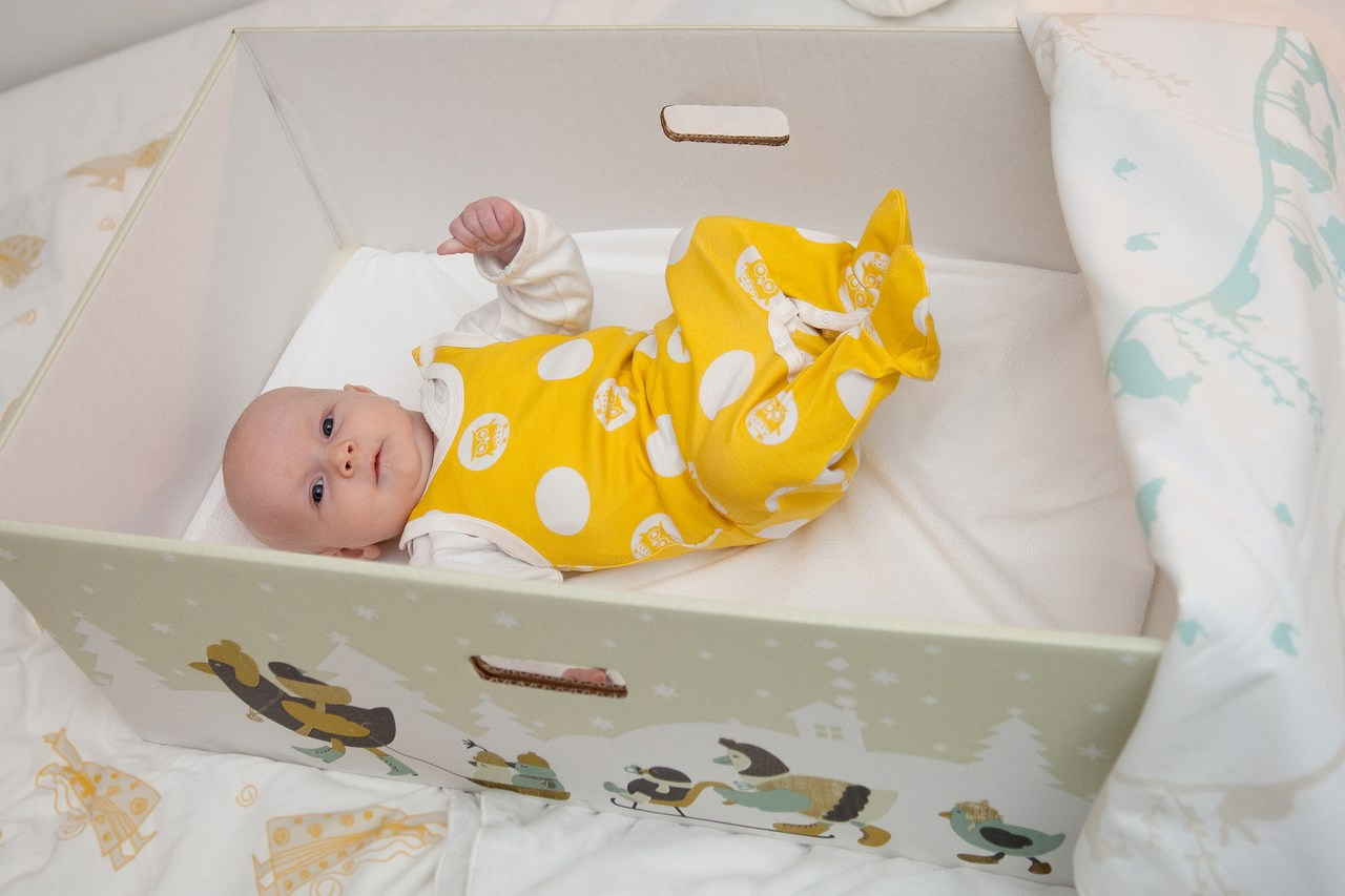 Finnish baby gift box : Pictures kela pimps the maternity package finland today