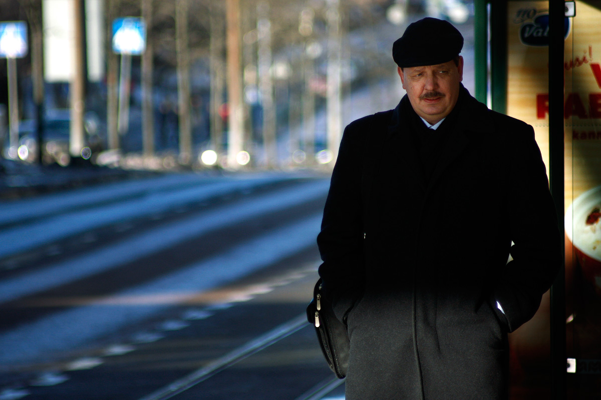 Taavi Aas, the deputy mayor of Tallinn, walking after the discussions with Jussi Pajunen, the mayor of Helsinki, about building a rail tunnel between Helsinki and Tallinn on Wednesday February 11 2015. Picture: Tony Öhberg for Finland Today