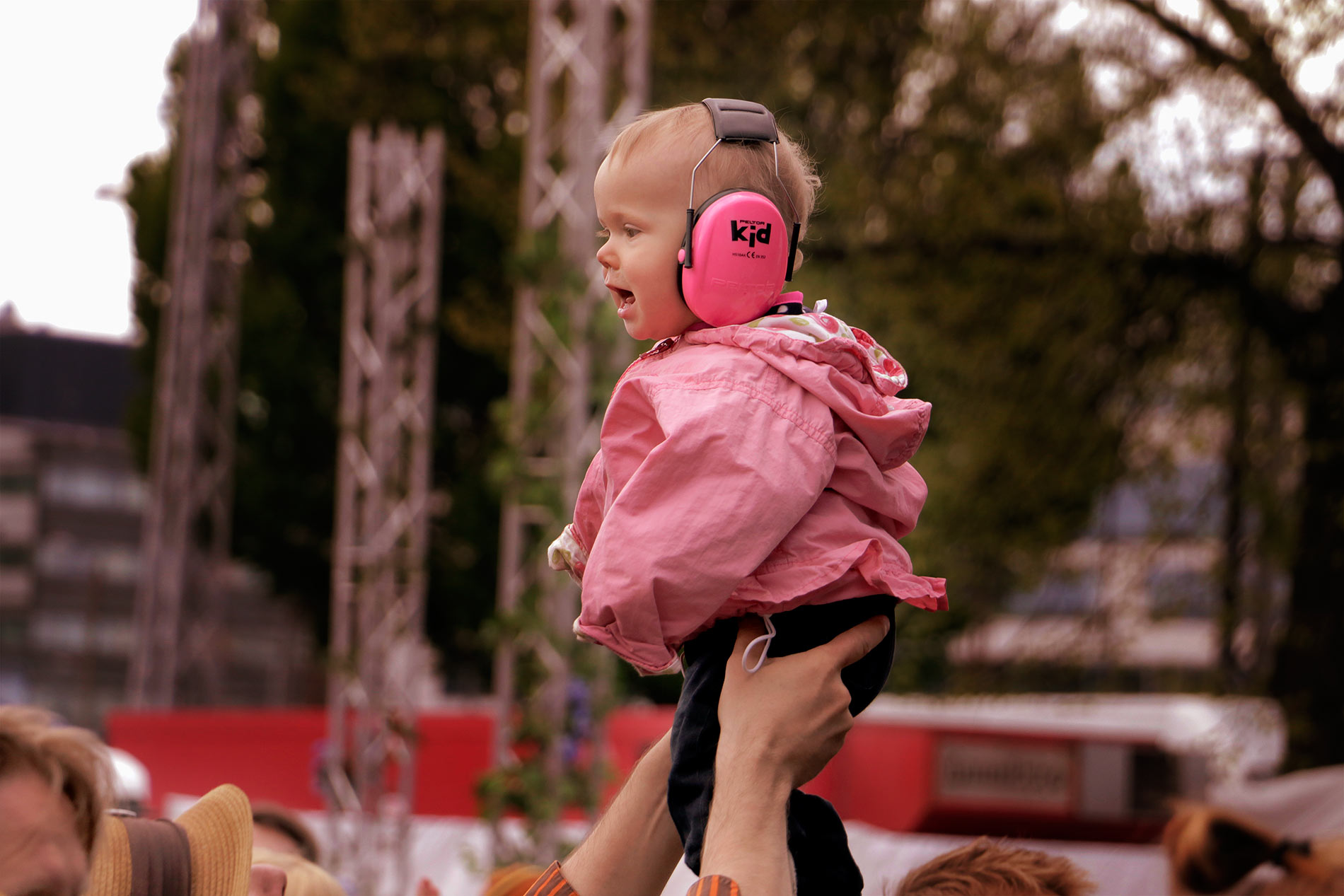 Families enjoying the World Village Festival at Kaisaniemi park in Helsinki, Finland on May 24 2015. Picture: Tony Öhberg for Finland Today