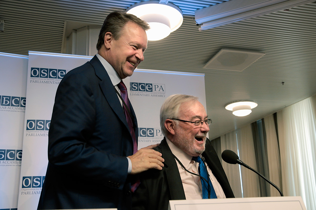 OSCE PA President Kanerva: Russia's Presence Would Not Have Affected the Results