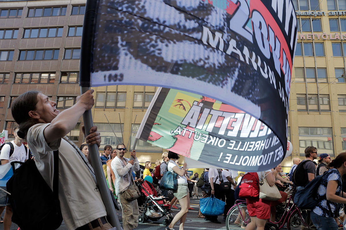 Protests Are Becoming Carnivals in Finland, And It's Really Ineffective