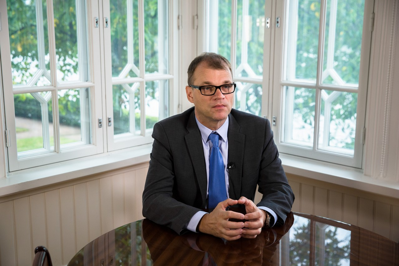 PM Juha Sipilä Addresses the Whole Nation: 'Now Is the Last Moment to Put Finland Back In Shape.'