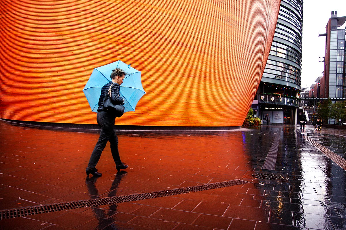 Expect Gusting Winds of As Much as 20 Meters Per Second Today