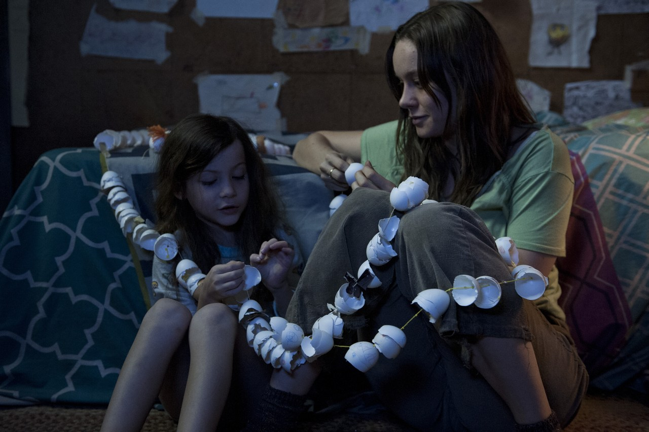 Jack (Jacob Tremblay) and Ma (Brie Larson) seek enjoyment in minor everyday things, while confined in a space of a few square metres. Picture: Caitlin Cronenberg, courtesy of A24