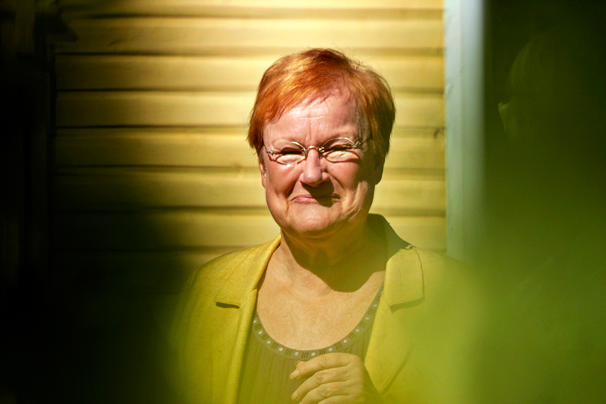 The former Finnish president Tarja Halonen. Picture: Tony Öhberg for Finland Today