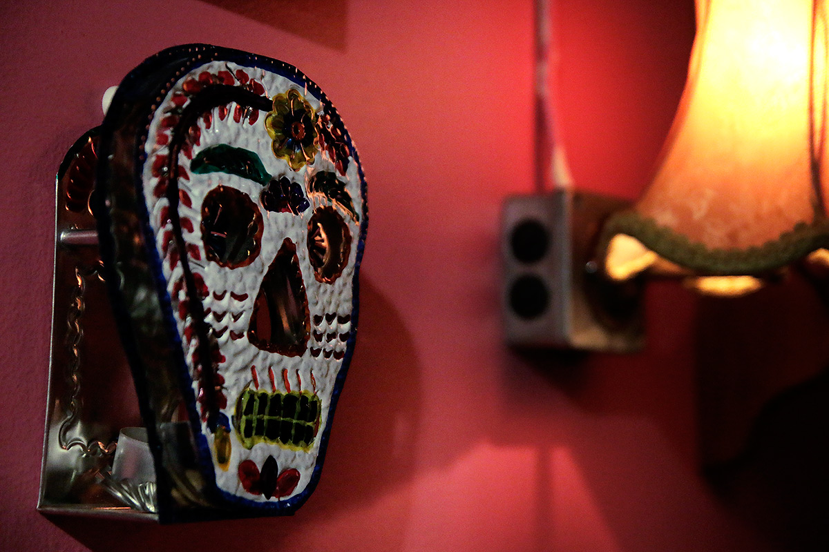 The skull is the icon of the Mexican Day of the Dead, which celebrates lost friends and family members. Picture: Tony Öhberg for Finland Today
