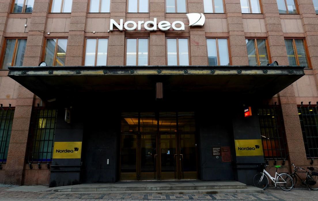Nordea's branch on Aleksanterikatu. Picture: Morgan Walker for Finland Today