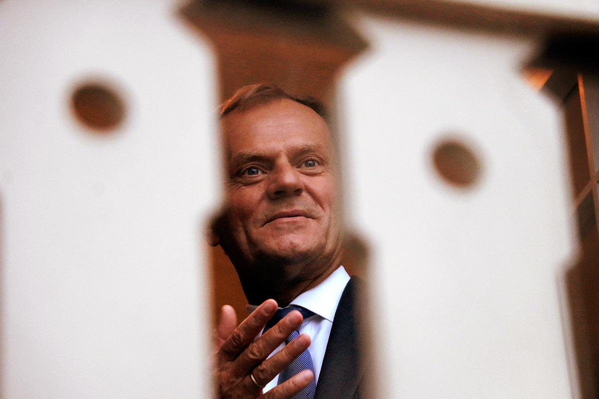 Donald Tusk. Picture: Tony Öhberg for Finland Today