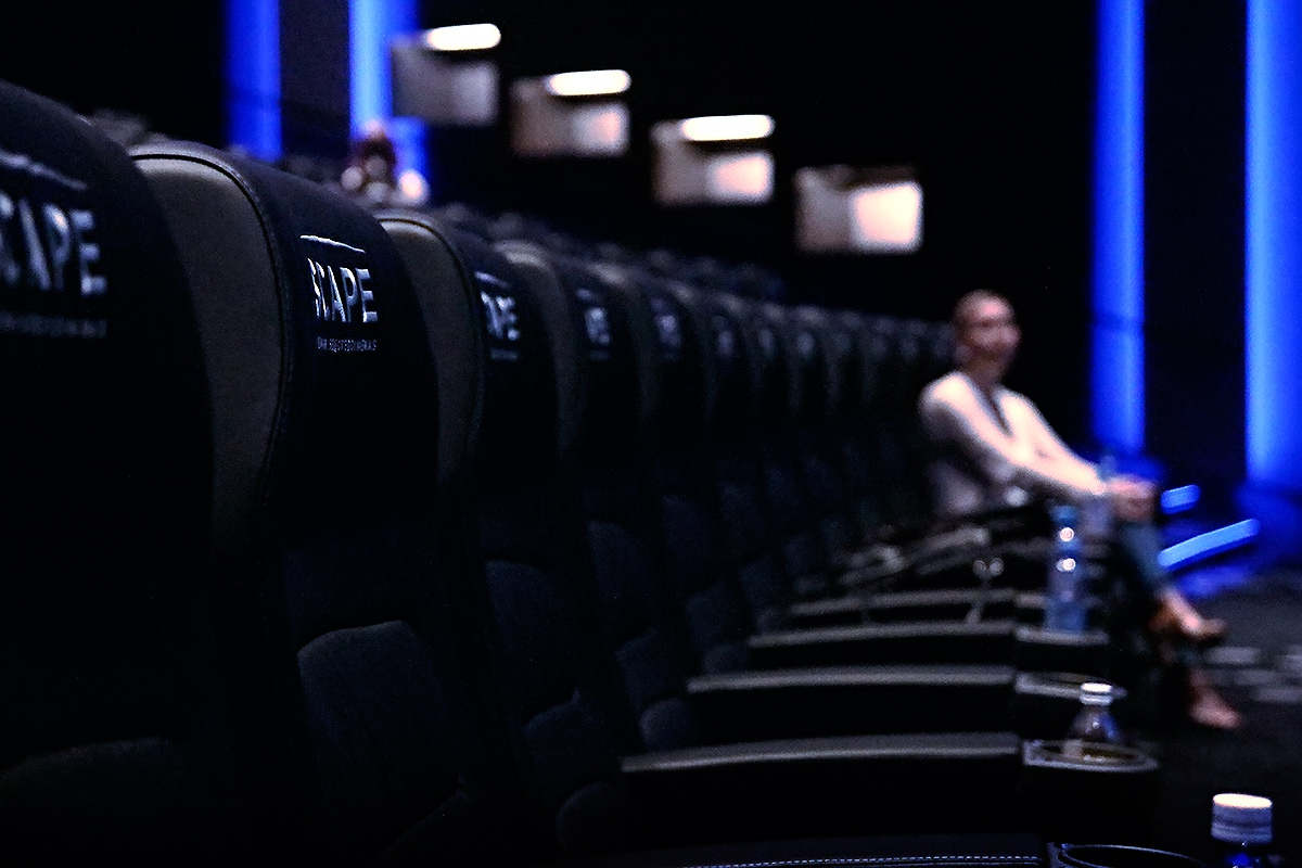 Finnkino Scape offers a luxurious cinema experience. Picture: Tony Öhberg for Finland Today