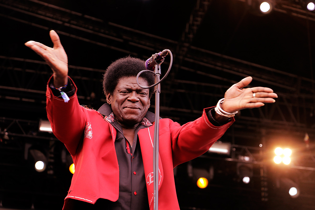 The American soul and funk band, Charles Bradley & His Extraordinaries, brought the feel of funk and soul music from the '60s and '70s to the main stage of the festival early on Saturday evening.