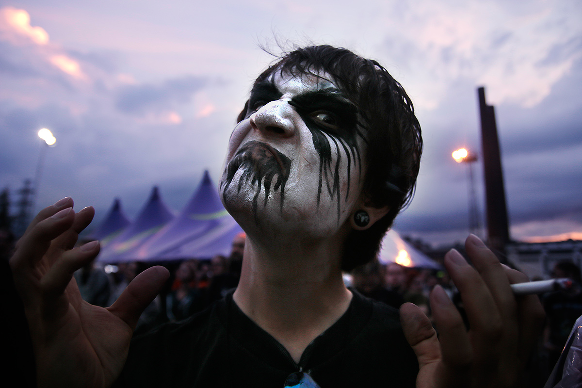Metal Band That Paints Their Faces
