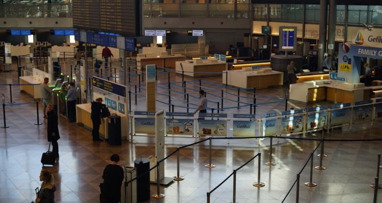 Helsinki-Vantaa airport. Photograph: Morgan Walker for Finland Today