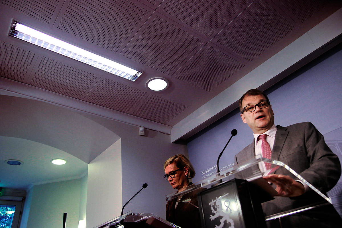ft-ajpAccording to Prime Minister Juha Sipilä, changing the law is not enough to get rid of racism. Picture: Tony Öhberg for Finland Today