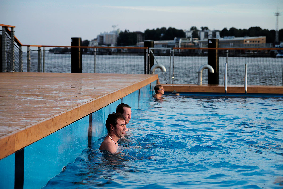 Soap in the Shower, Naked in the Dressing Room, and Other Curiosities of the Finnish Pool Culture