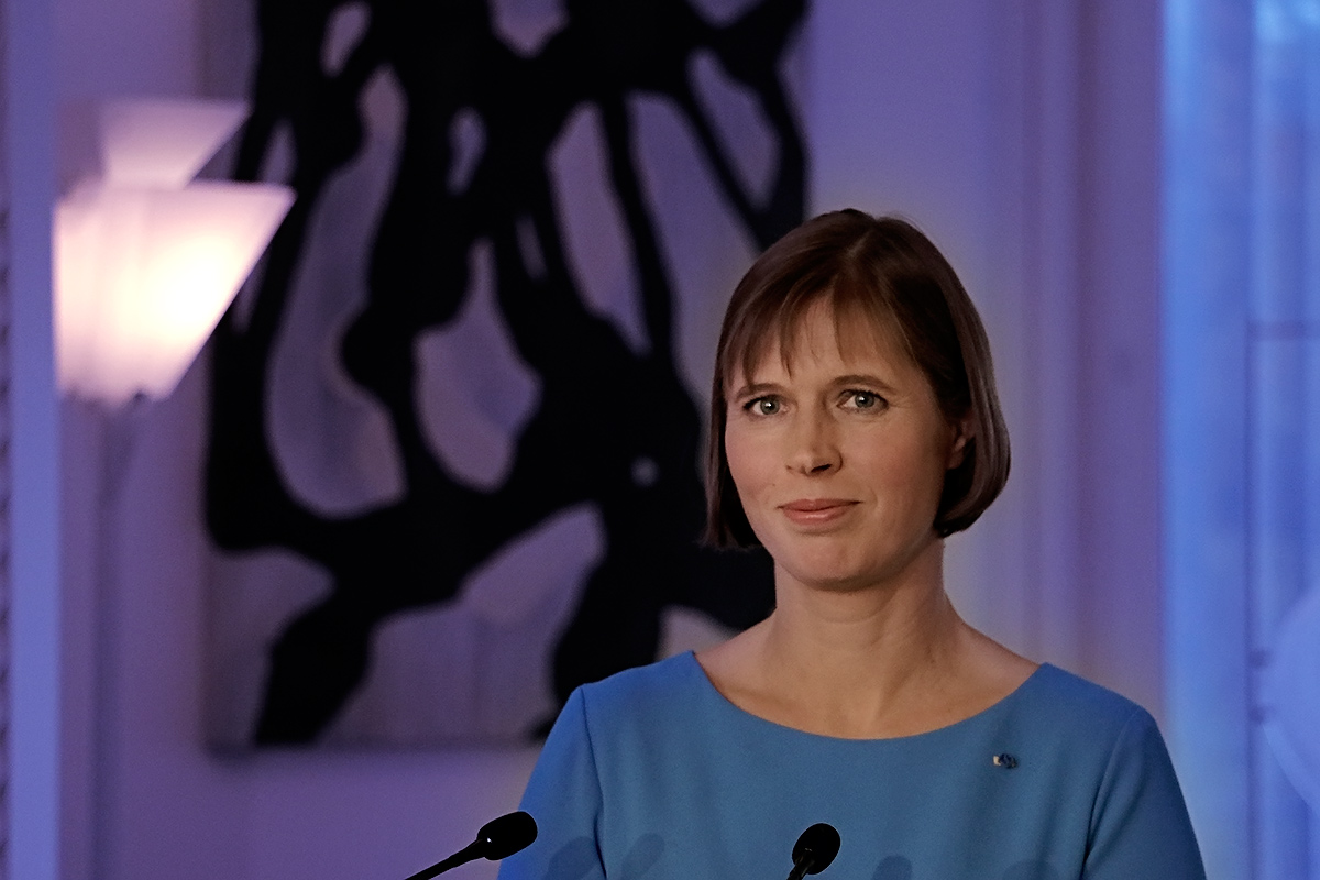 Kersti Kaljulaid, the president of Estonia, visiting Mäntyniemi in Helsinki, Finland on October 20 2016. Picture: Tony Öhberg for Finland Today