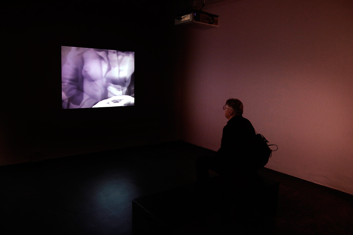 Mona Hatoum favours the use of a video projector in her work. Picture: Tony Öhberg for Finland Today