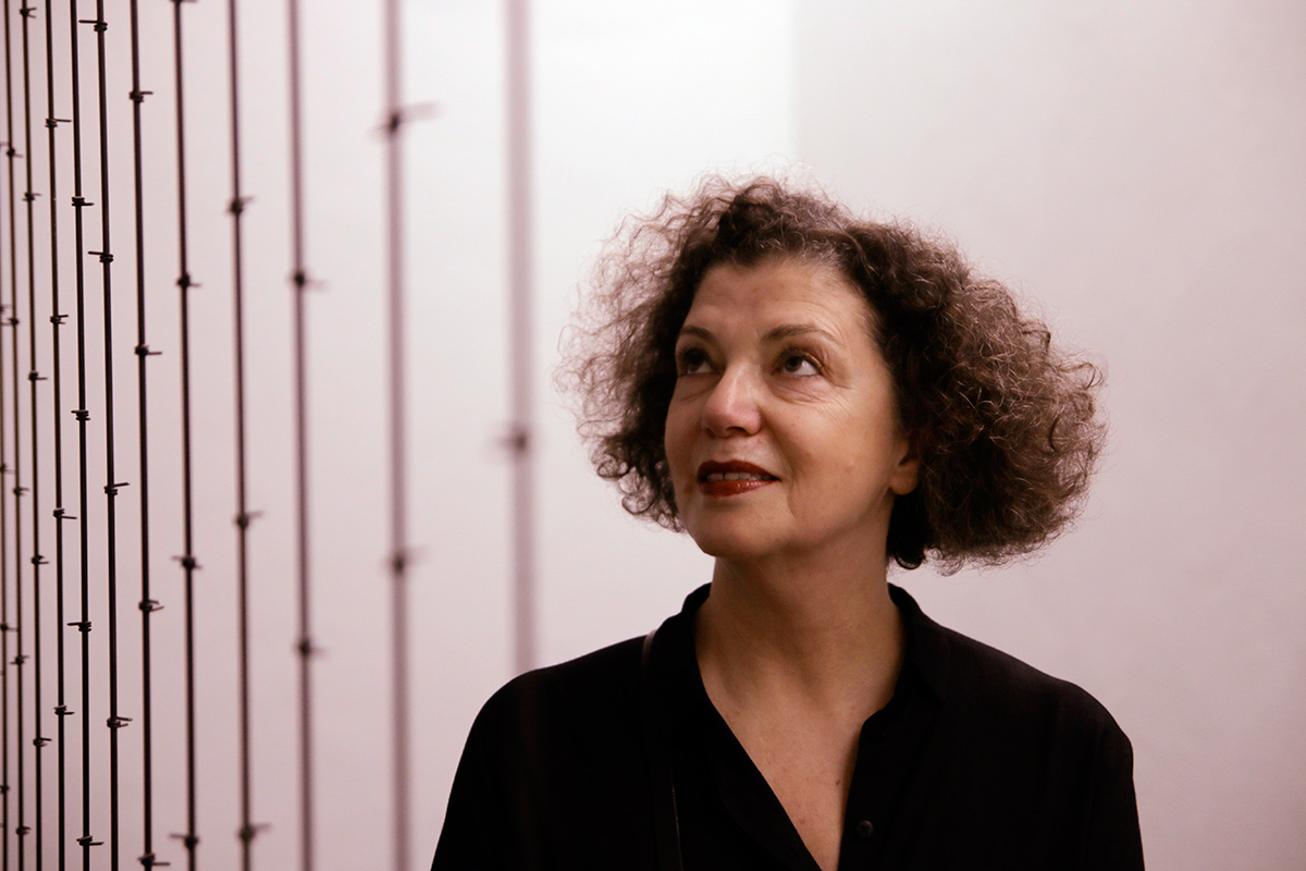 Mona Hatoum is a video and installation artist of Palestinian origin who lives in London. Picture: Tony Öhberg for Finland Today