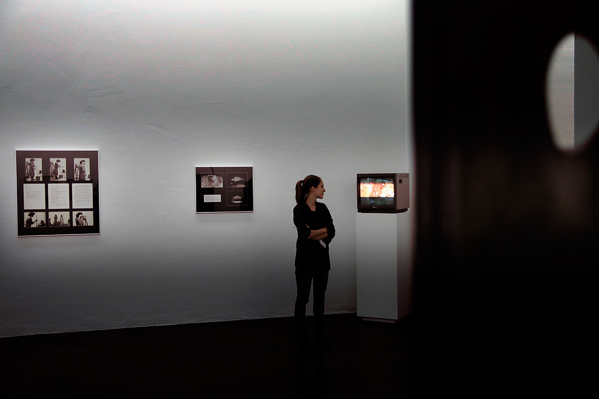 Hatoum's exhibition provides a sense of space for the visitor. Picture: Tony Öhberg for Finland Today