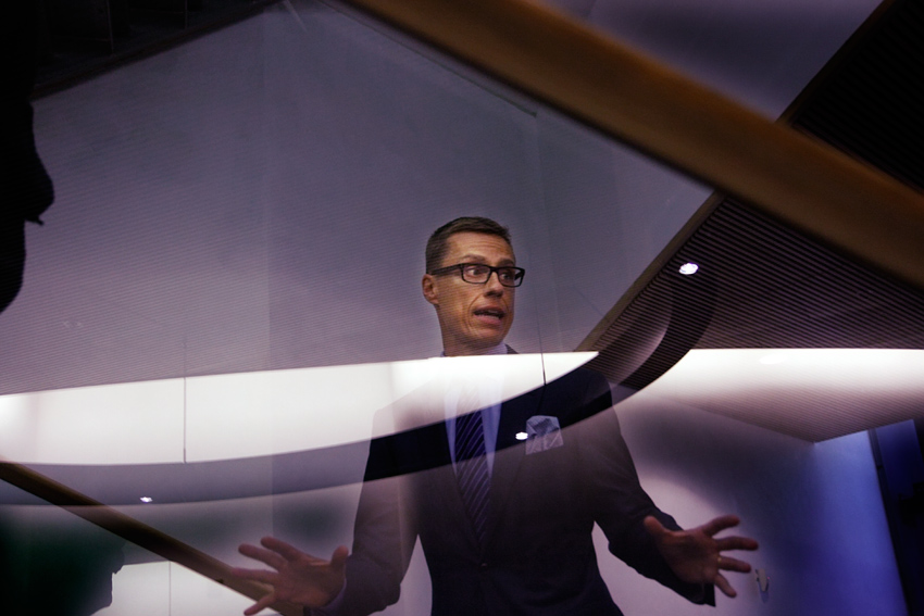 Alexander Stubb, the former prime minister of Finland, is afraid that the U.S. President Donald Trump may strike a deal with his Russian counterpart Vladimir Putin. Picture: Tony Öhberg for Finland Today