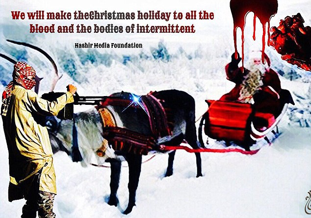 ISIS Threatens Santa Claus With a Knife-Wielding Jihadi – Travel Companies in Lapland Increase Alert Level