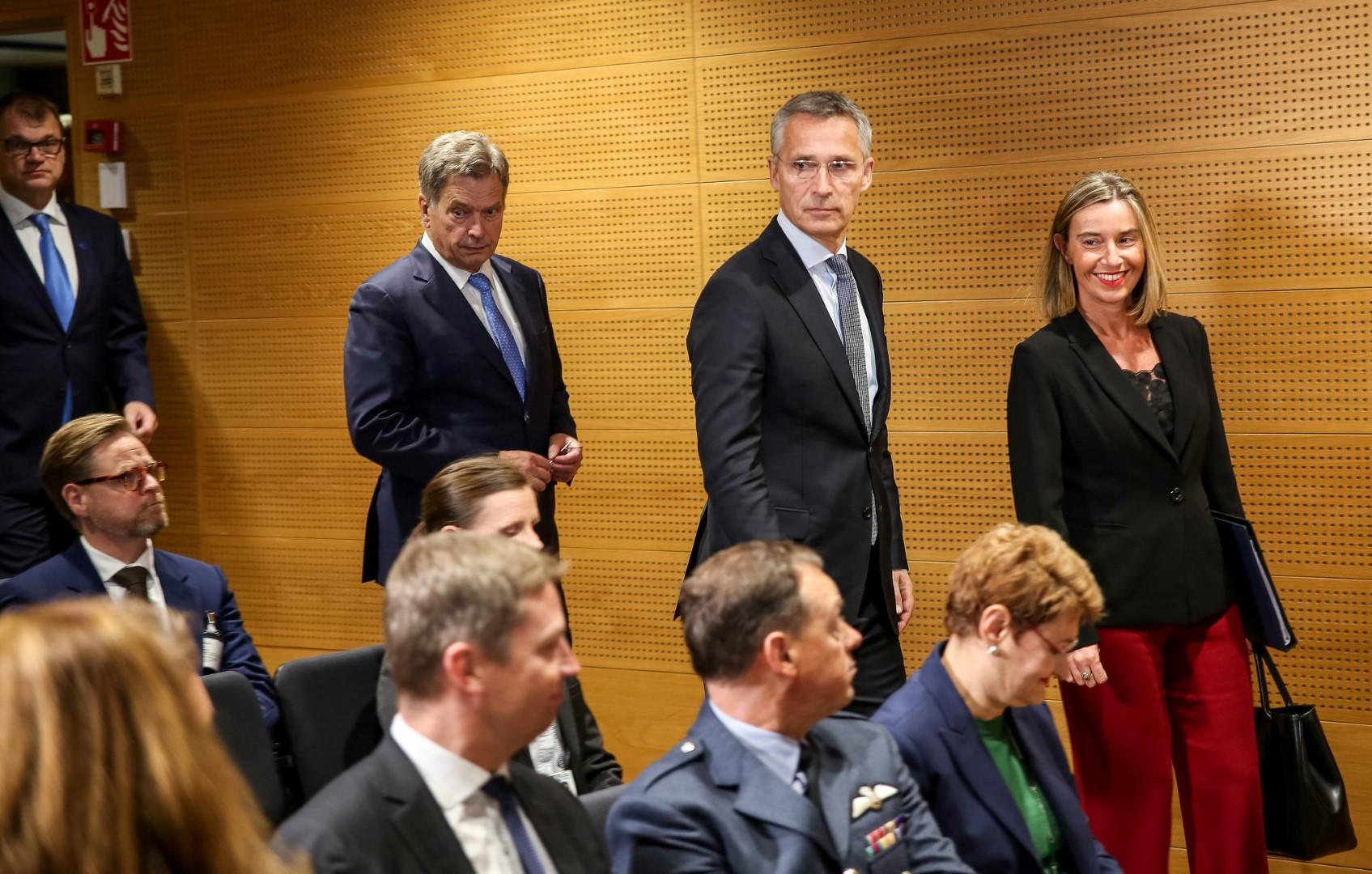 President Niinistö Compares Hybrid Threats To an Old Story About a Man With a Sandbag