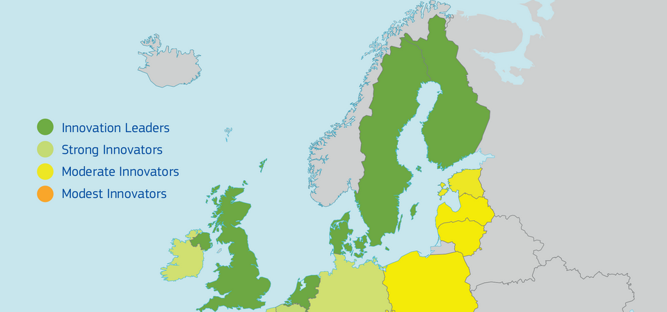 Finland Ranks As the Third Most Innovative Country in the EU