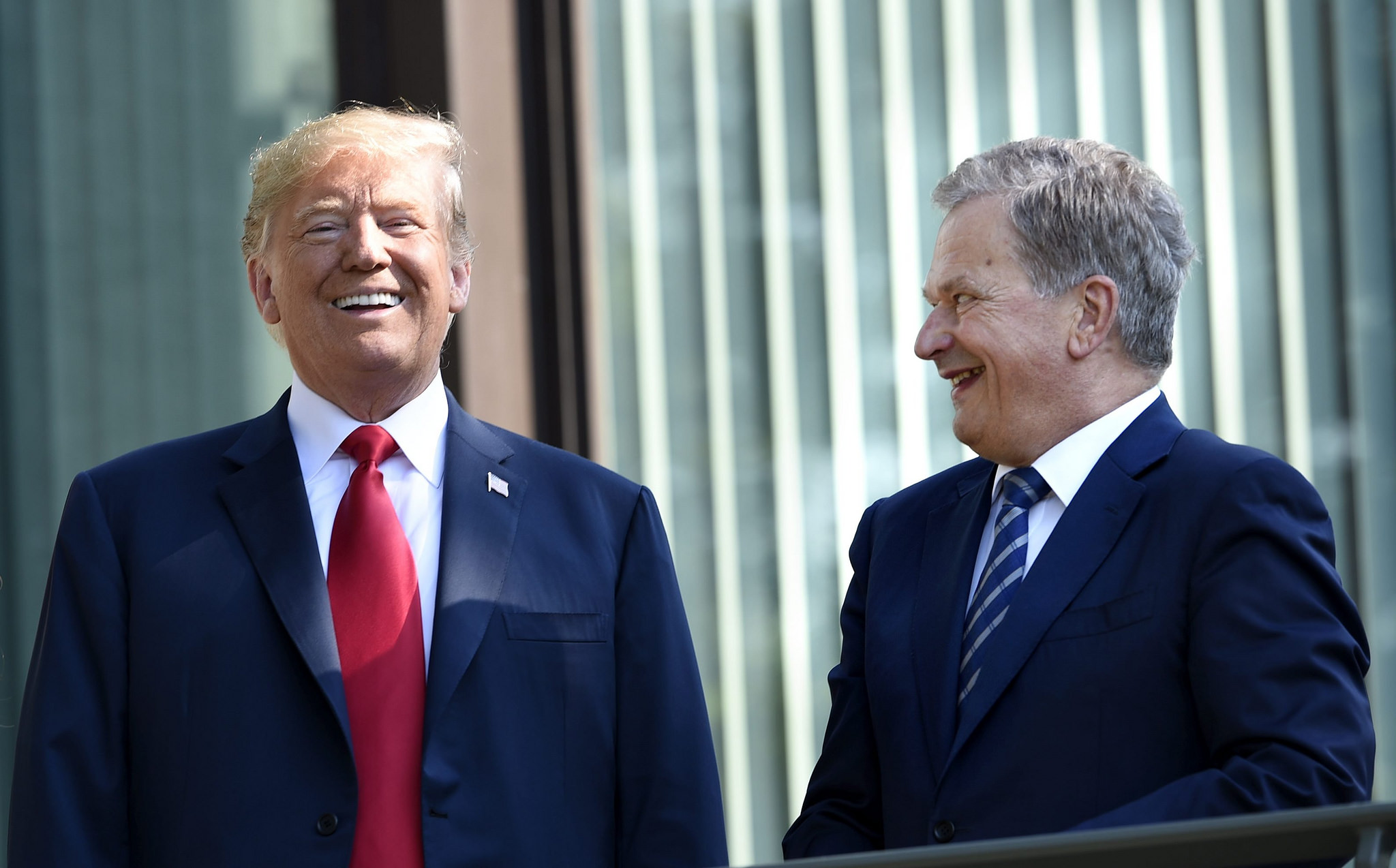 """US President Trump at Mäntyniemi in Helsinki: """"I Think Finland is a Great Country"""""""
