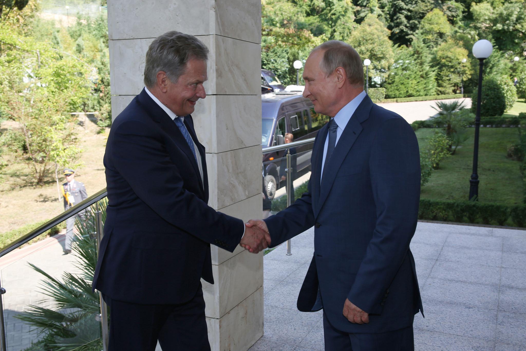 President Niinistö Met Putin in Sochi on Wednesday – Agree on Most Things