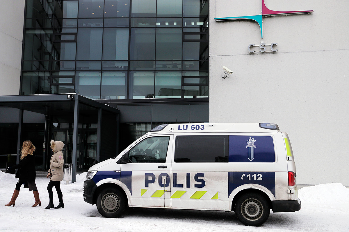 The Bomb Threat Against the Office Building in Keilaranta Declared False