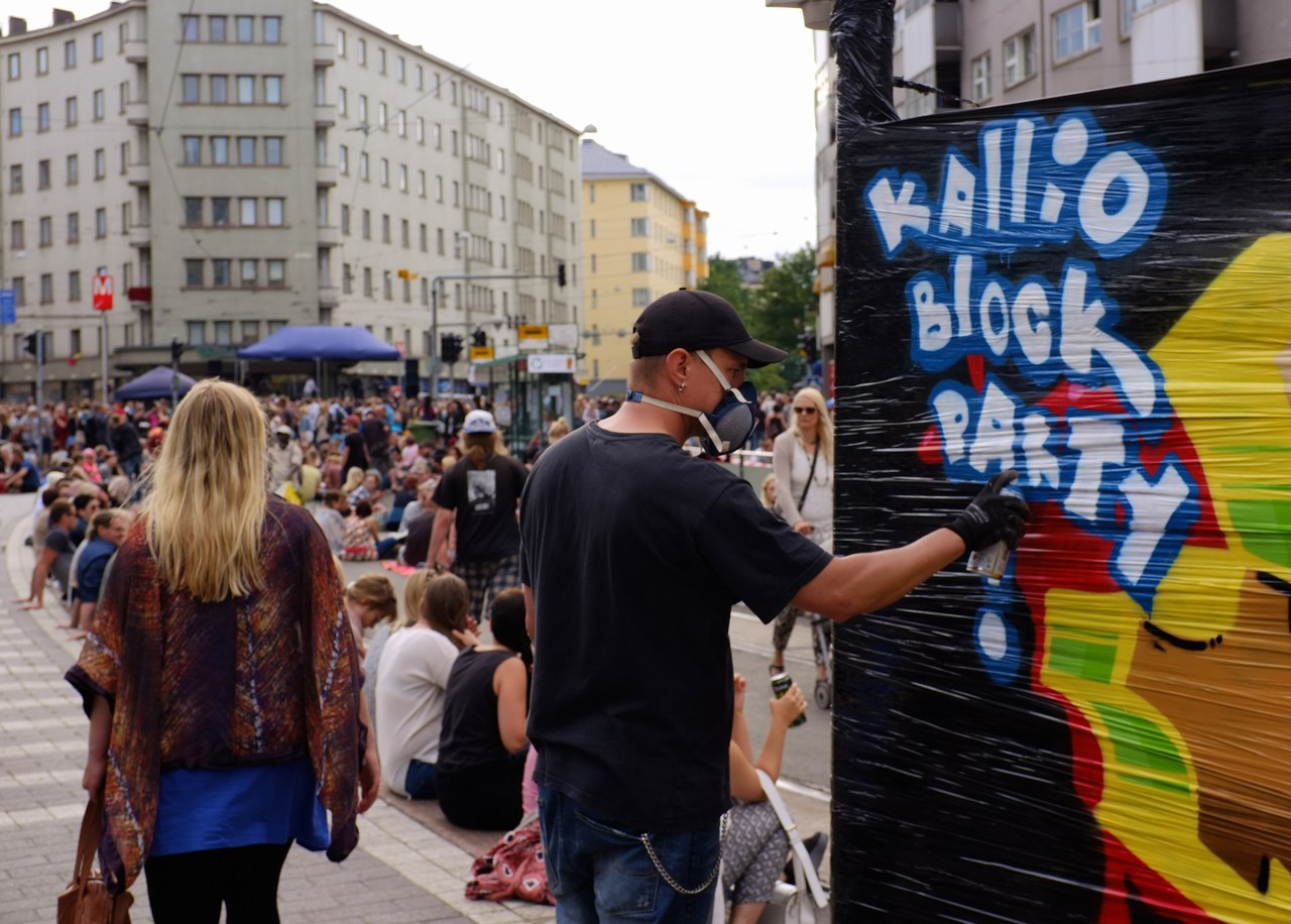 Welcoming art to the street