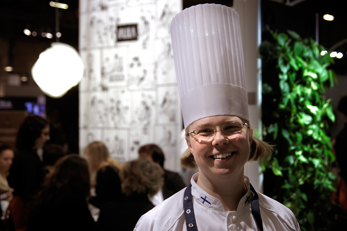 Lilli Jyräs, Fazer's Head Chef. Photo by Tony Öhberg, Finland Today