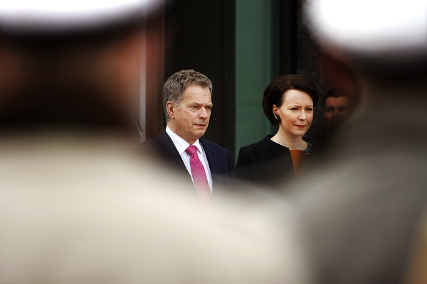 President Sauli Niinistö and his spouse, Jenni Haukio. Picture: Tony Öhberg for Finland Today
