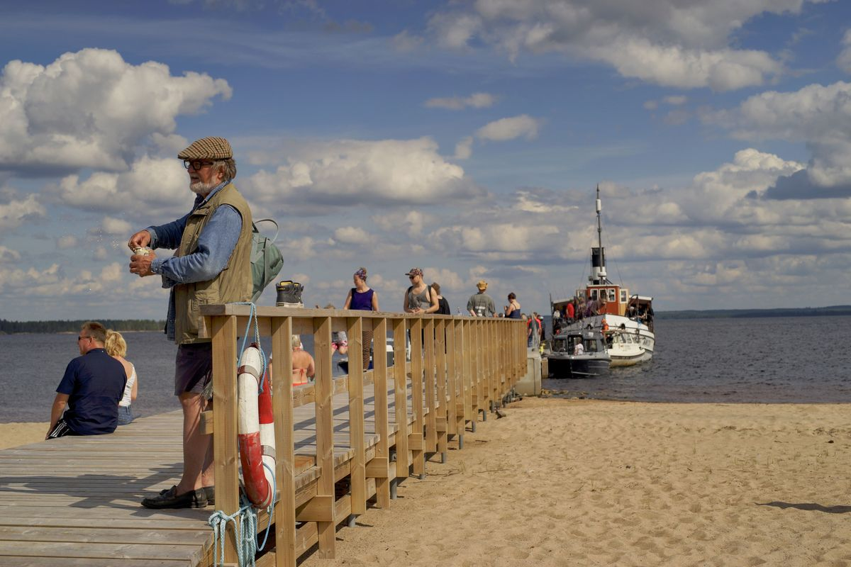 Oulujärvi rock cruise featured bands on a boat, cruising around the fifth largest lake in Finland in July. Picture: Morgan Walker for Finland Today