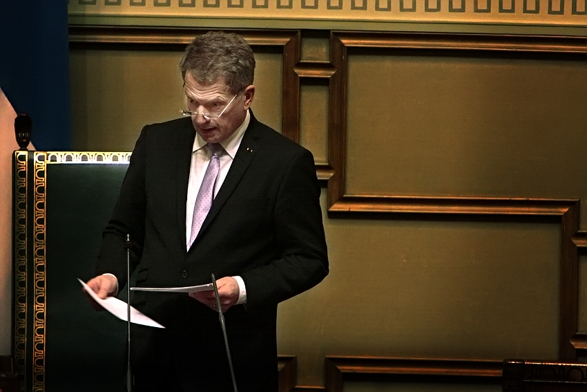 President Niinistö's New Year Speech Was About Good, Evil and a Union With Bear and Man