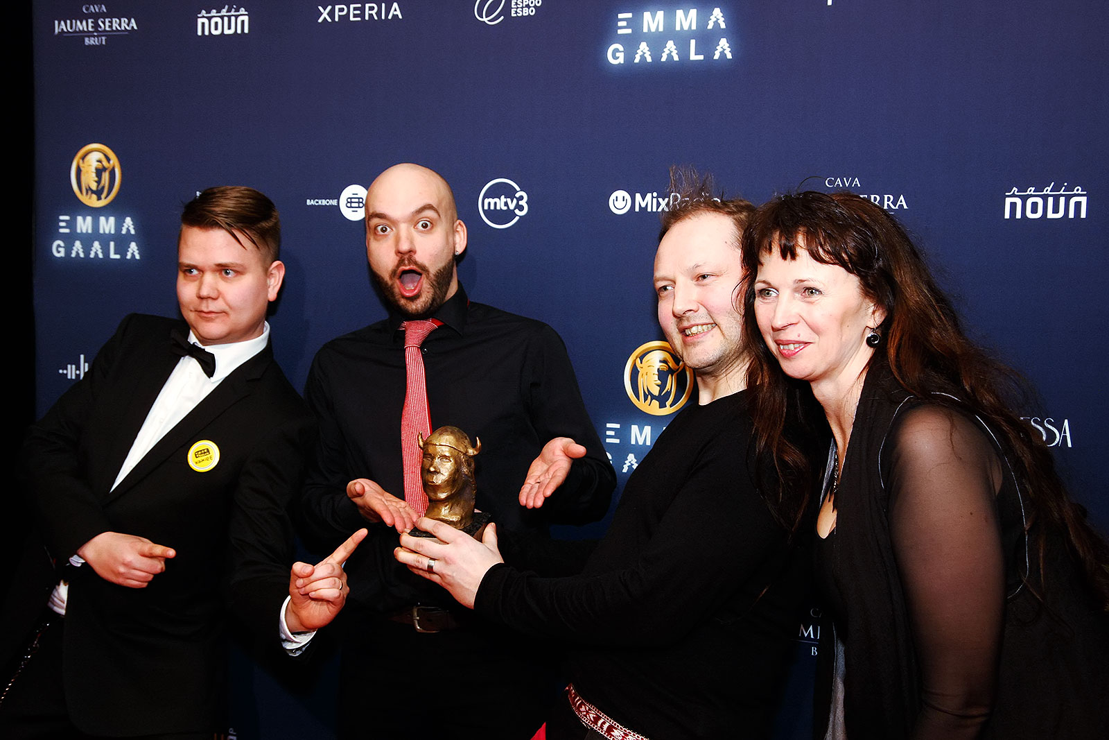 FBB - Siba Folk Big Band won the Emma for the etno album of the year. Picture: Tony Öhberg for Finland Today