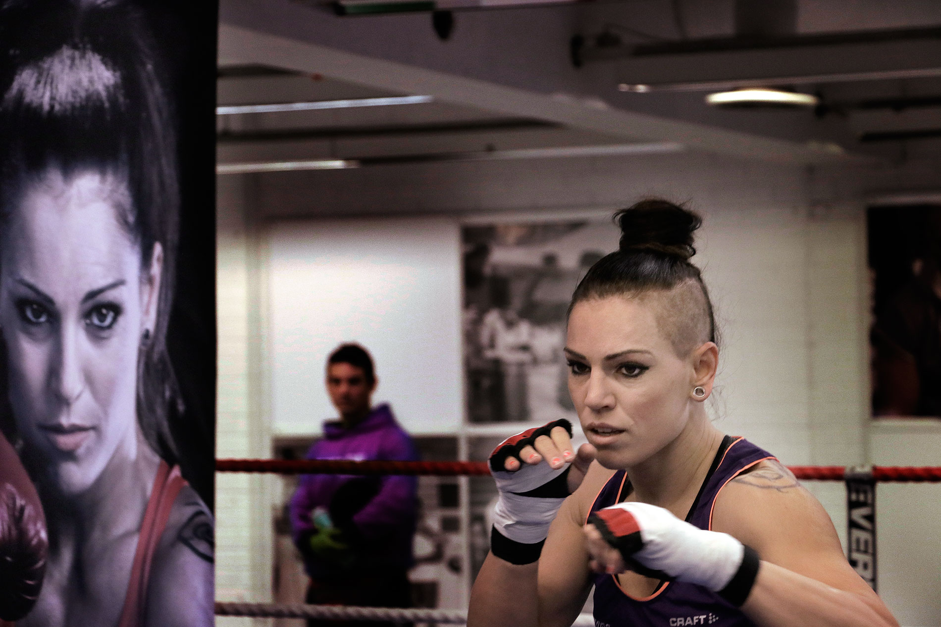 "Boxer Eva Wahlström Before the World Championship Bout: ""The Fight Might Turn Into a War"""