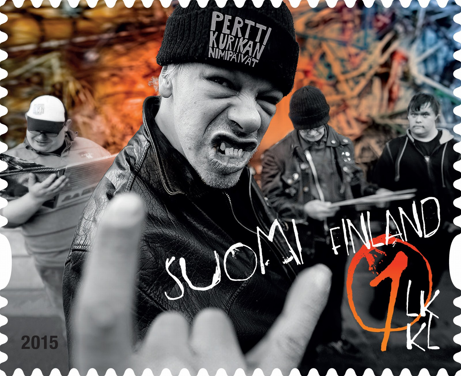 The Singer From Pertti Kurikan Nimipäivät: Us Getting Our Own Stamp Feels Really Excellent, Fantastic and Cool