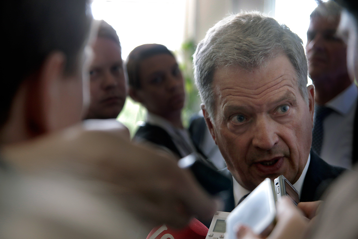President Niinistö: The Russians Have Been Offended – It's Understandable