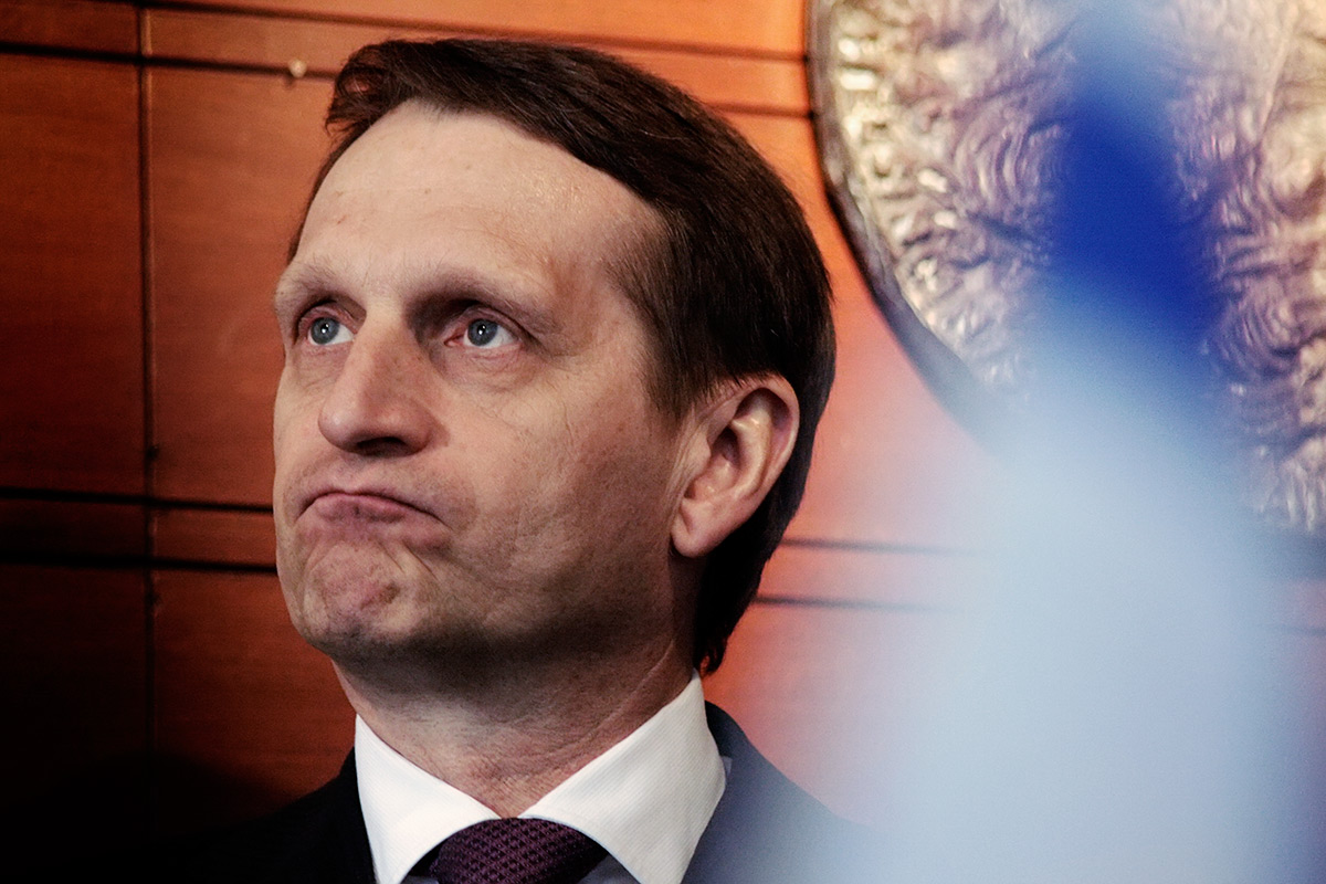 The Russian Speaker of Duma Naryshkin Banned From Finland – Kreml: Outrageous!