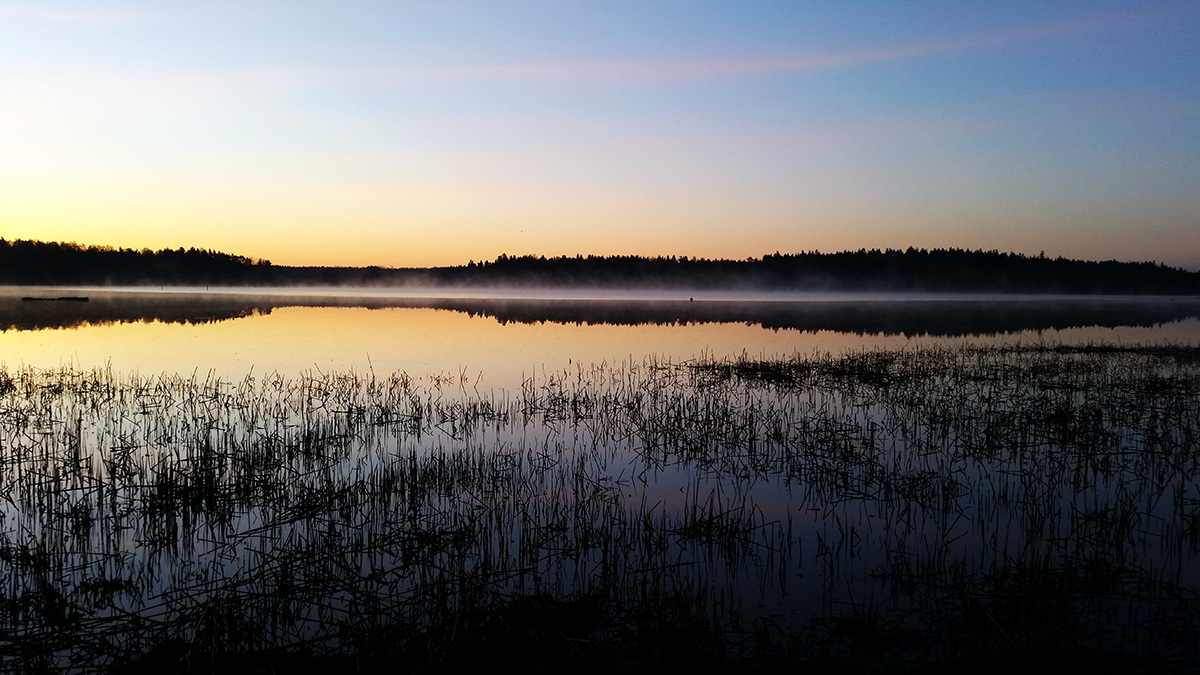 Dusk before sunrise in July. Picture: Tony Öhberg for Finland Today