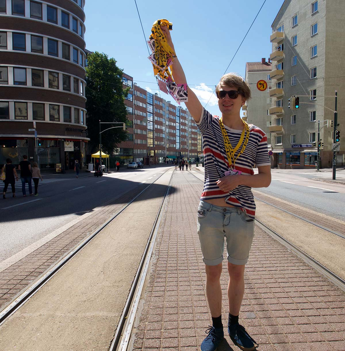 Maybe Kallio Block Party Should Become Commercial and Regular, says a Stage Manager
