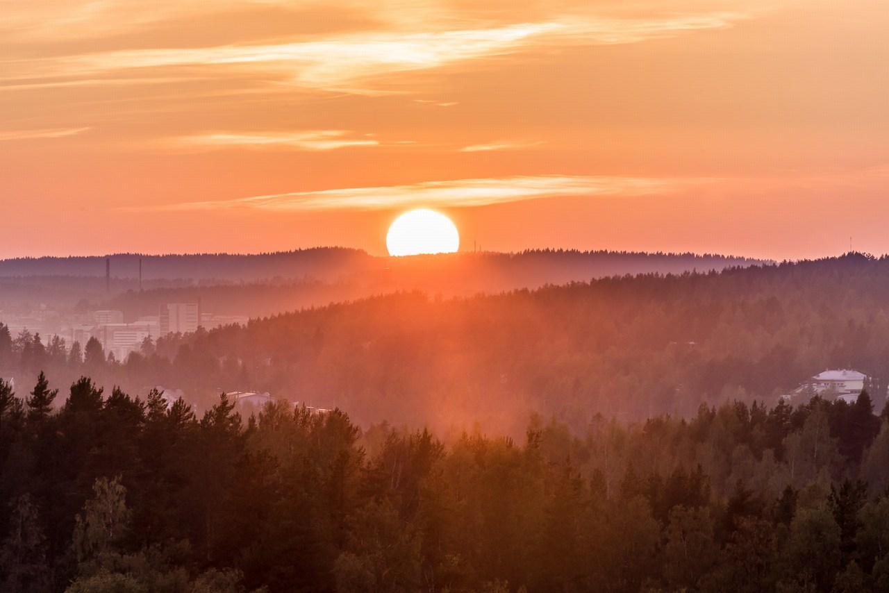 "The December solstice marks the shortest day of the year. The word 'solstice' derives from Latin and means ""sun stands still."" Picture: Seppo Sirkka / Finland Today"