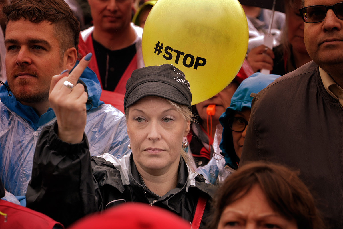The Unrest of Finns Erupts in Mass Demonstrations This Week