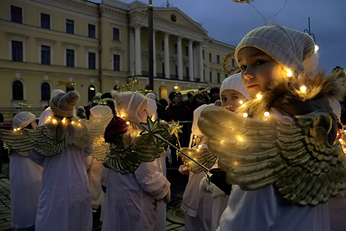 The Annual Christmas Parade Gets a Facelift in Helsinki