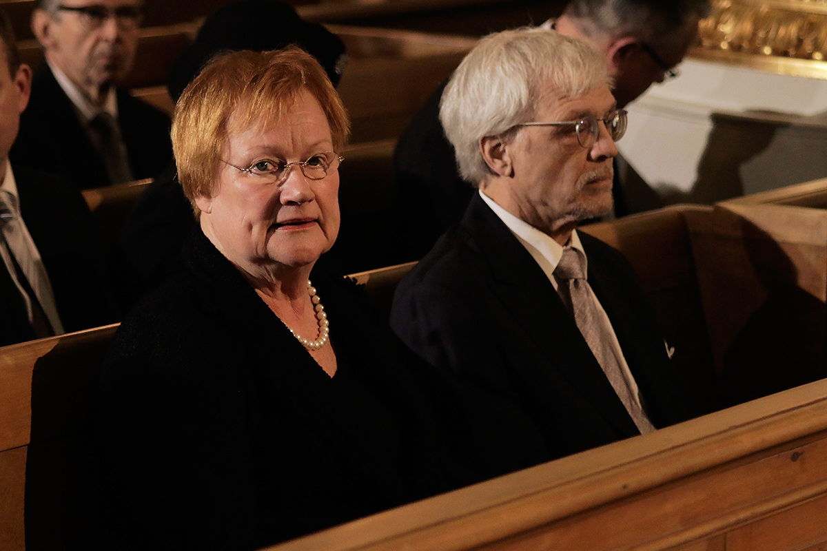 Deportations of Refugees Should Be Stopped, According to Former President Tarja Halonen